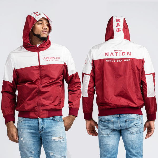 Kappa Alpha Psi Achiever Hooded Windbreaker Jacket