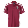 Kappa Alpha Psi Coat of Arms DriFit Polo Shirt (Krimson/White)