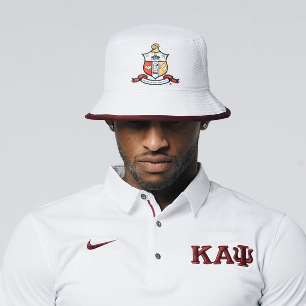 60d85c2baaf Coat of Arms Bucket Hat.  24.00. Kappa Alpha Psi Greek Letter ...