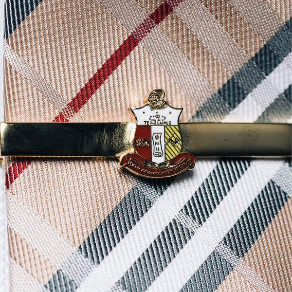Kappa Alpha Psi Coat of Arms Tie Bar (Gold)