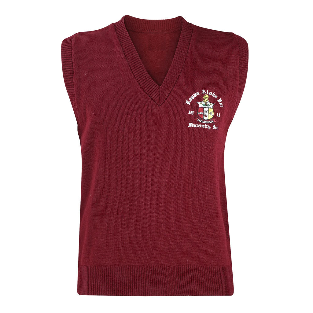 Kappa Alpha Psi Krimson Coat of Arms Sweater Vest