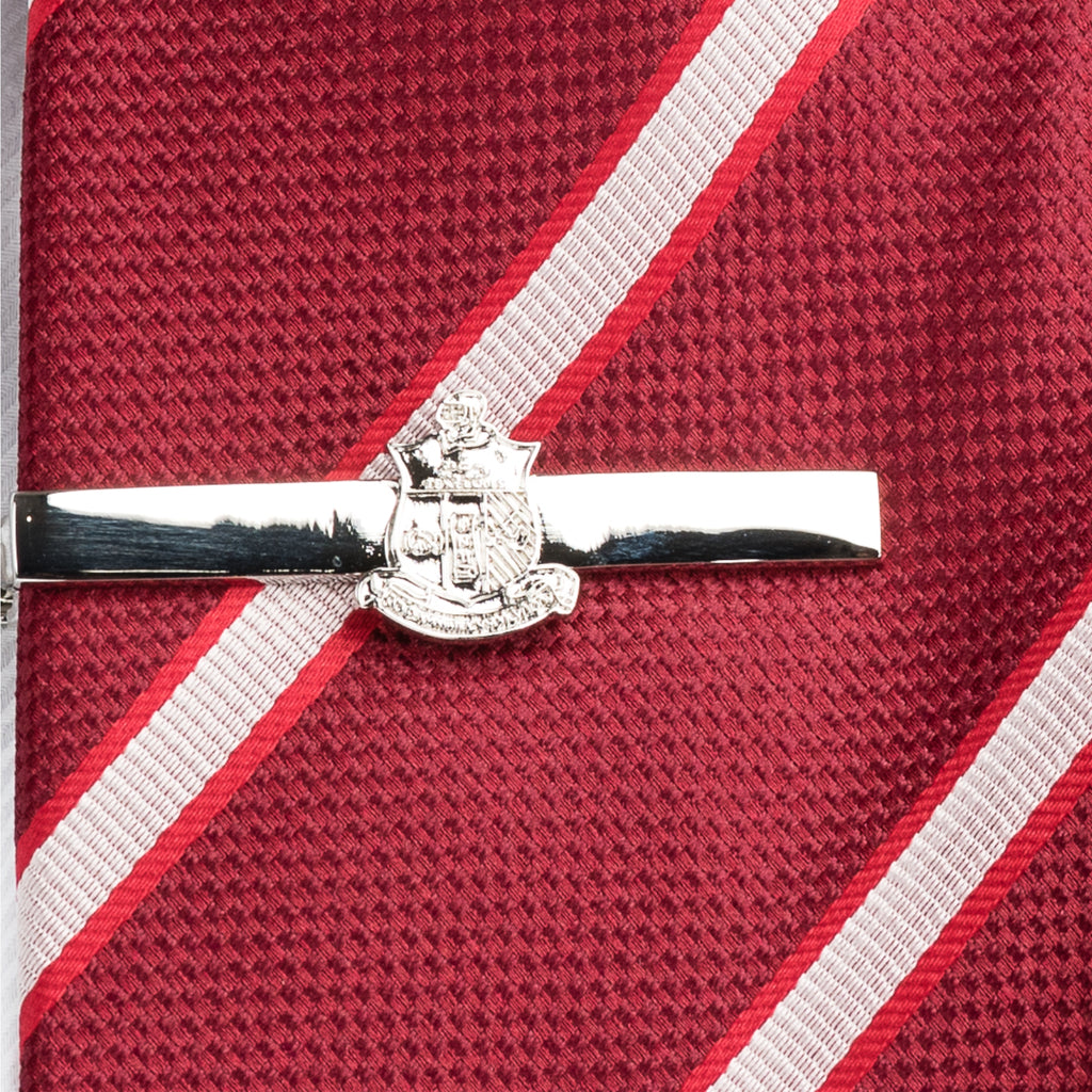 Kappa Alpha Psi Coat of Arms Tie Bar (Silver)