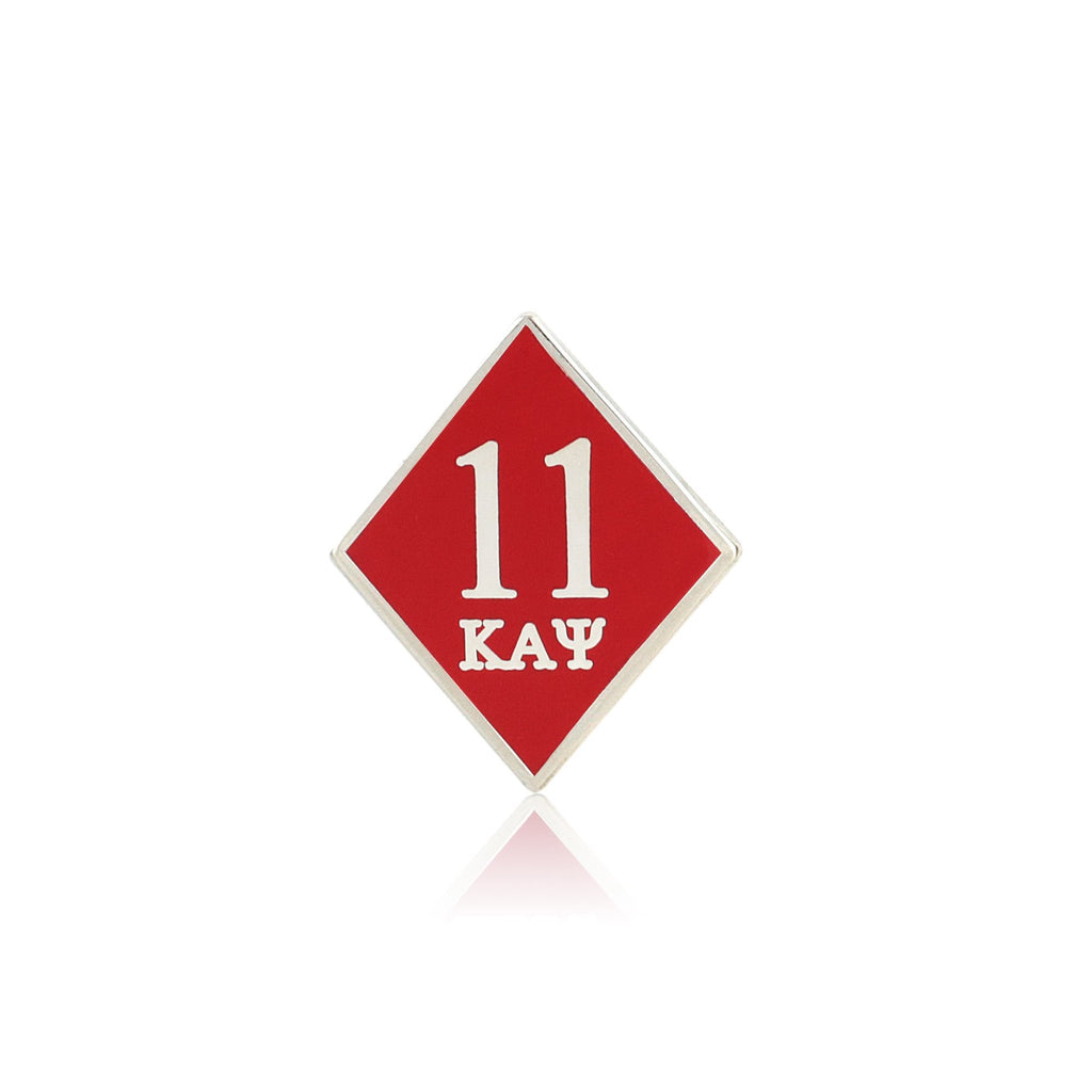 Kappa Alpha Psi 11 Klub Diamond Lapel Pin