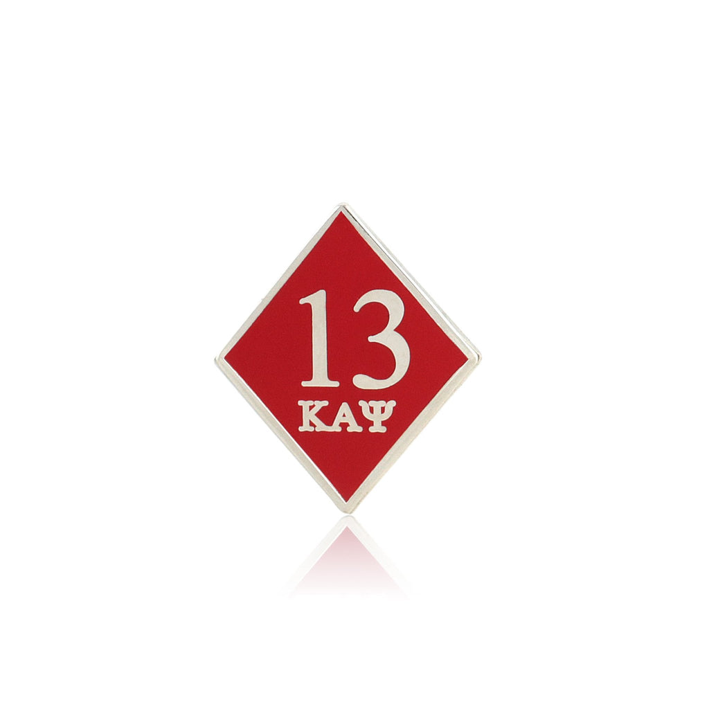 Kappa Alpha Psi 13 Klub Diamond Lapel Pin