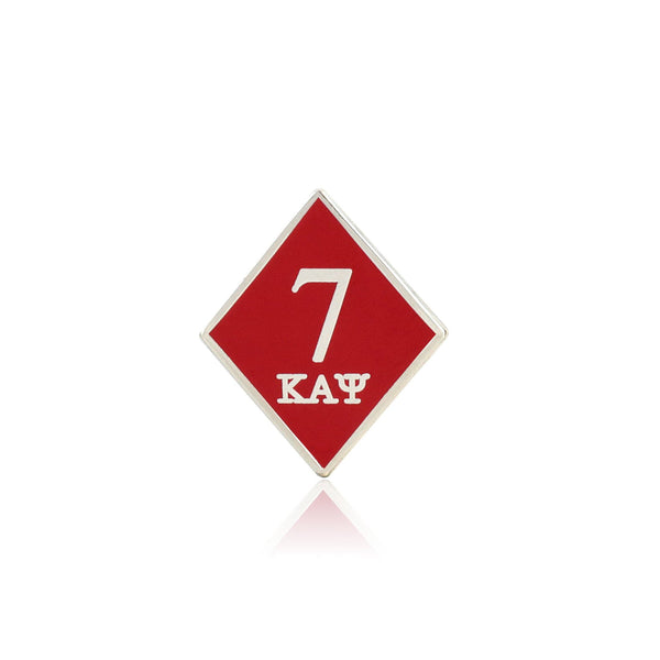 Kappa Alpha Psi 7 Klub Diamond Lapel Pin