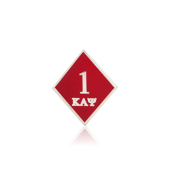 Kappa Alpha Psi Diamond Ace Klub Lapel Pin