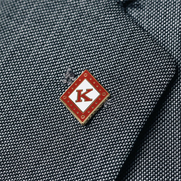 Kappa Alpha Psi Diamond K Diamond Lapel Pin