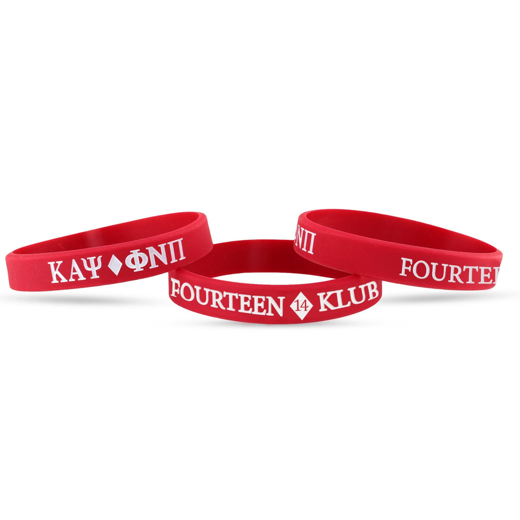 Kappa Alpha Psi Fourteen #14 Klub Wristband