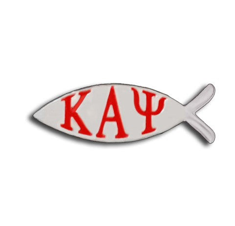 Kappa Alpha Psi Fish Lapel Pin