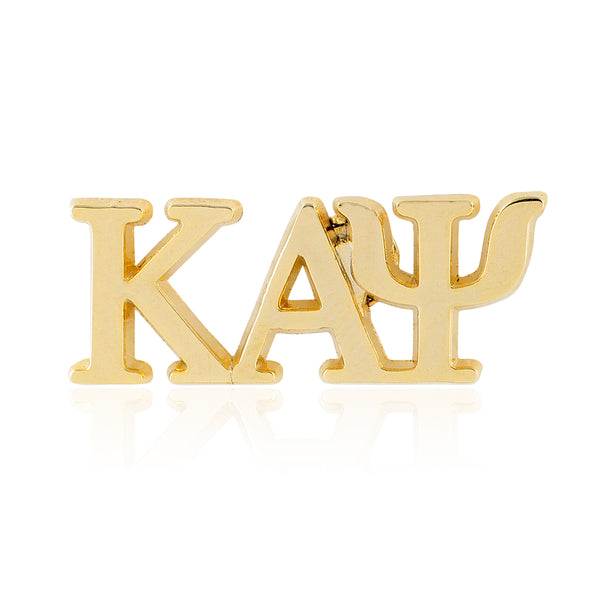 Kappa Alpha Psi Greek Letter Lapel Pin (Gold)