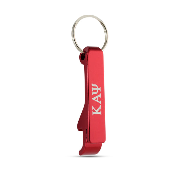 Kappa Alpha Psi  Greek Letter Bottle Opener Keychain