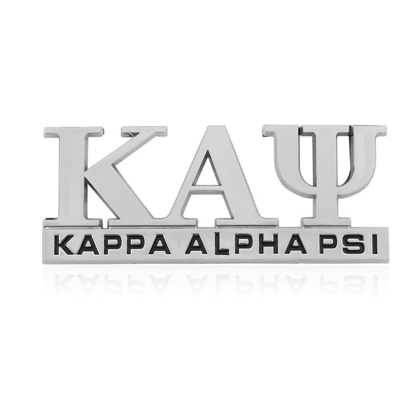 Kappa Alpha Psi Greek Letter Car Emblem