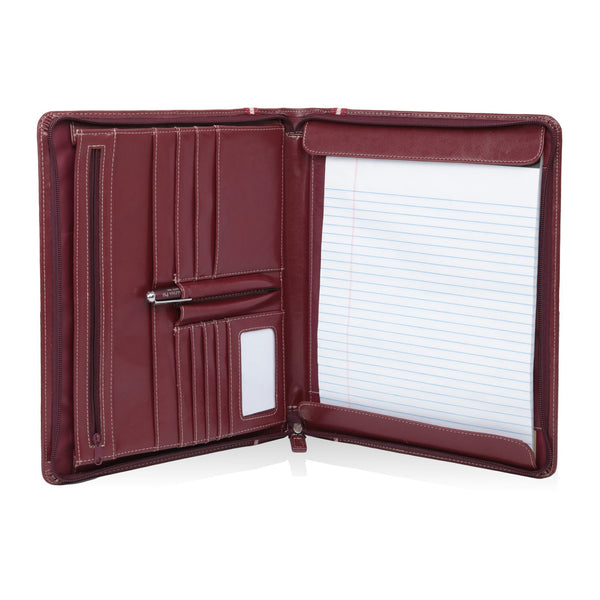 Kappa Alpha Psi Signature Stripe Zippered Portfolio