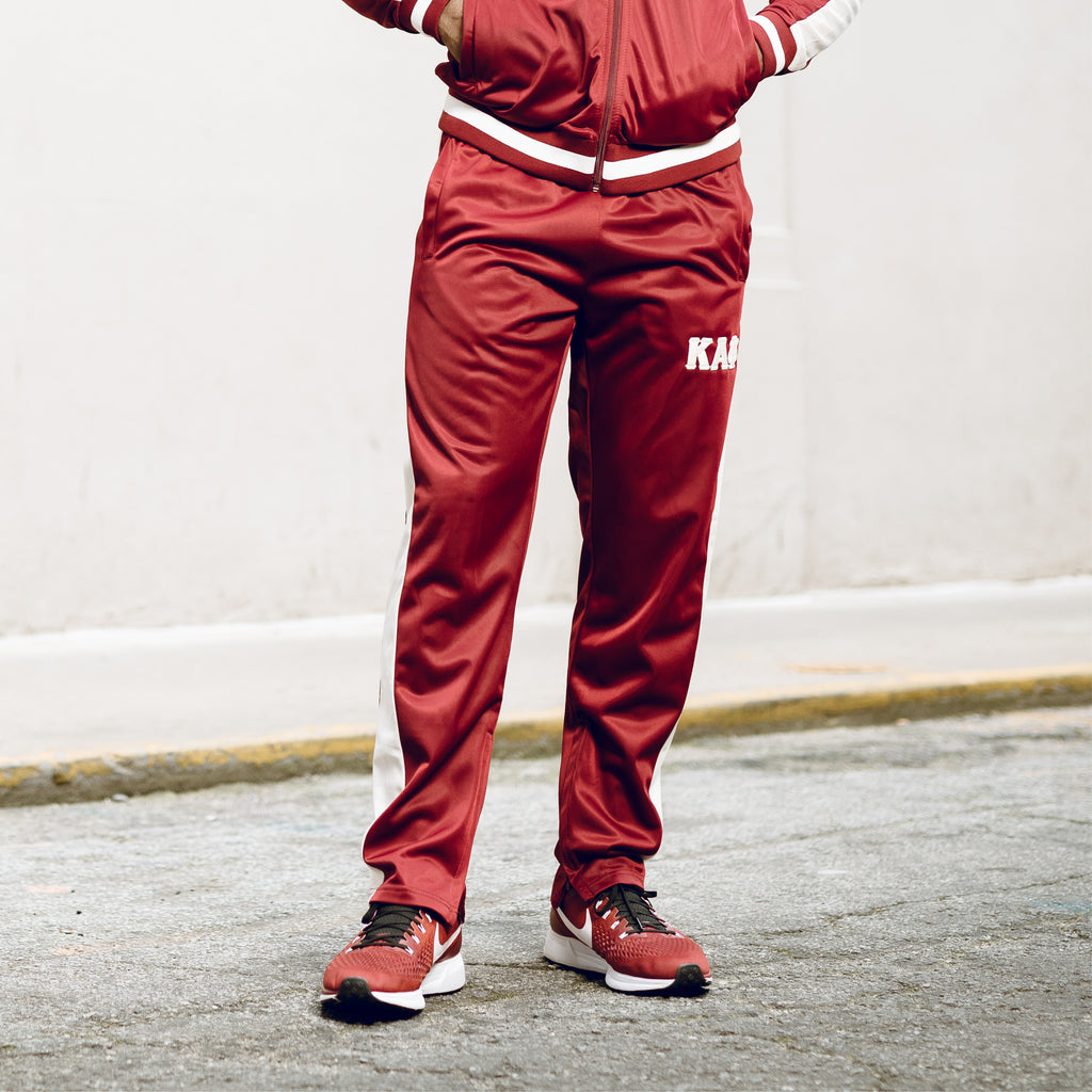 Kappa Alpha Psi Greek Letter Tapered Track Pants (Summers)