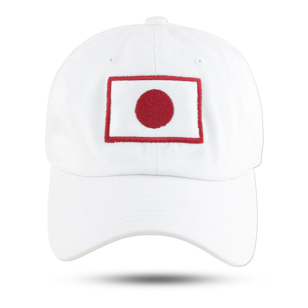Kappa Alpha Psi JAPAN Adjustable Dad Cap (White)