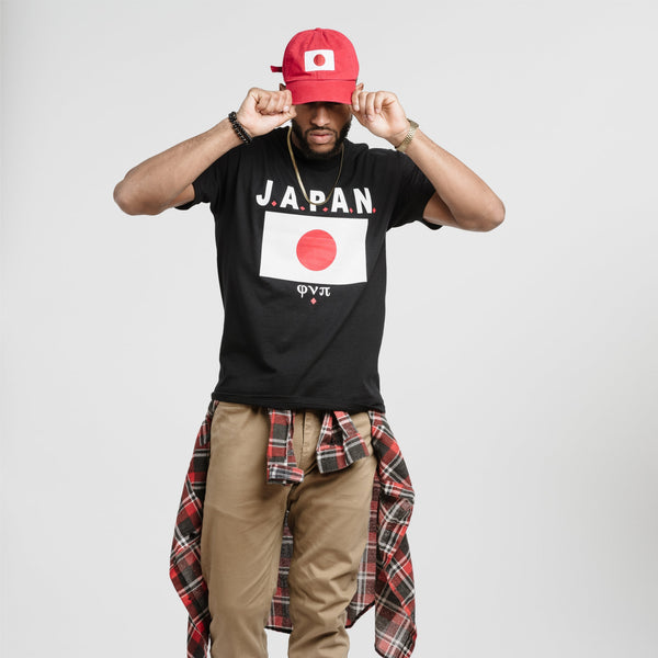 Kappa Alpha Psi JAPAN Tee (Black)