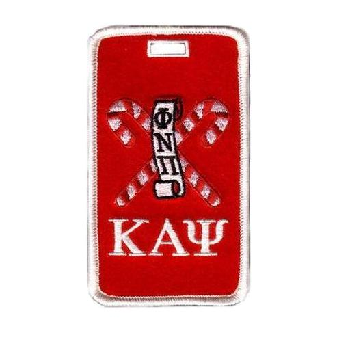 Kappa Alpha Psi Kandy Kanes Luggage Tag