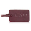 Kappa Alpha Psi Krimson Greek Letter Luggage Tag
