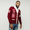 Kappa Alpha Psi CUSTOM Greek Letter Cardigan Sweater (Red)