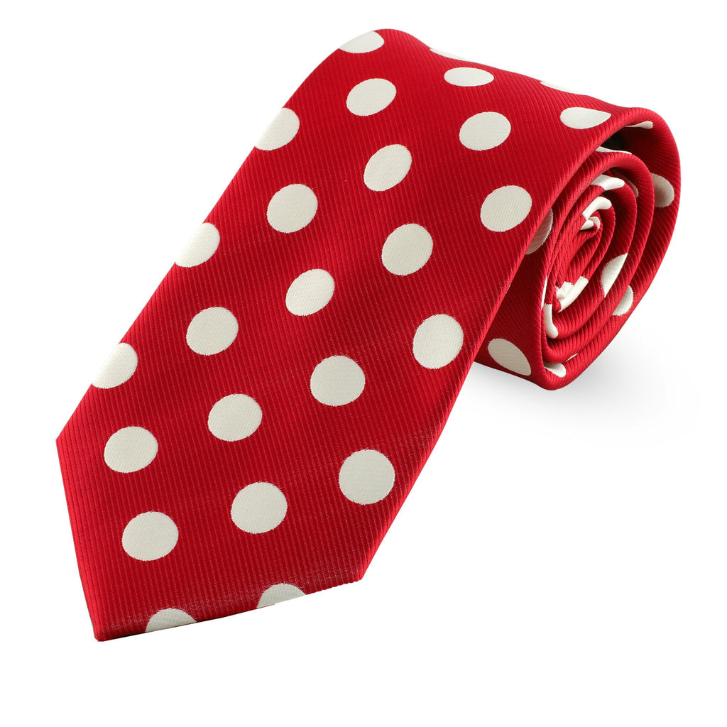 Kappa Alpha Psi Large Polka Dot Necktie