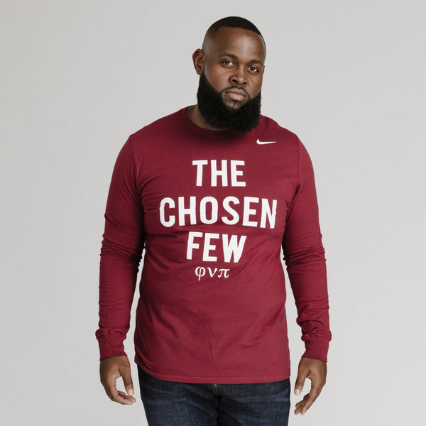 Kappa Alpha Psi NIKE Chosen Few Long Sleeve Tee