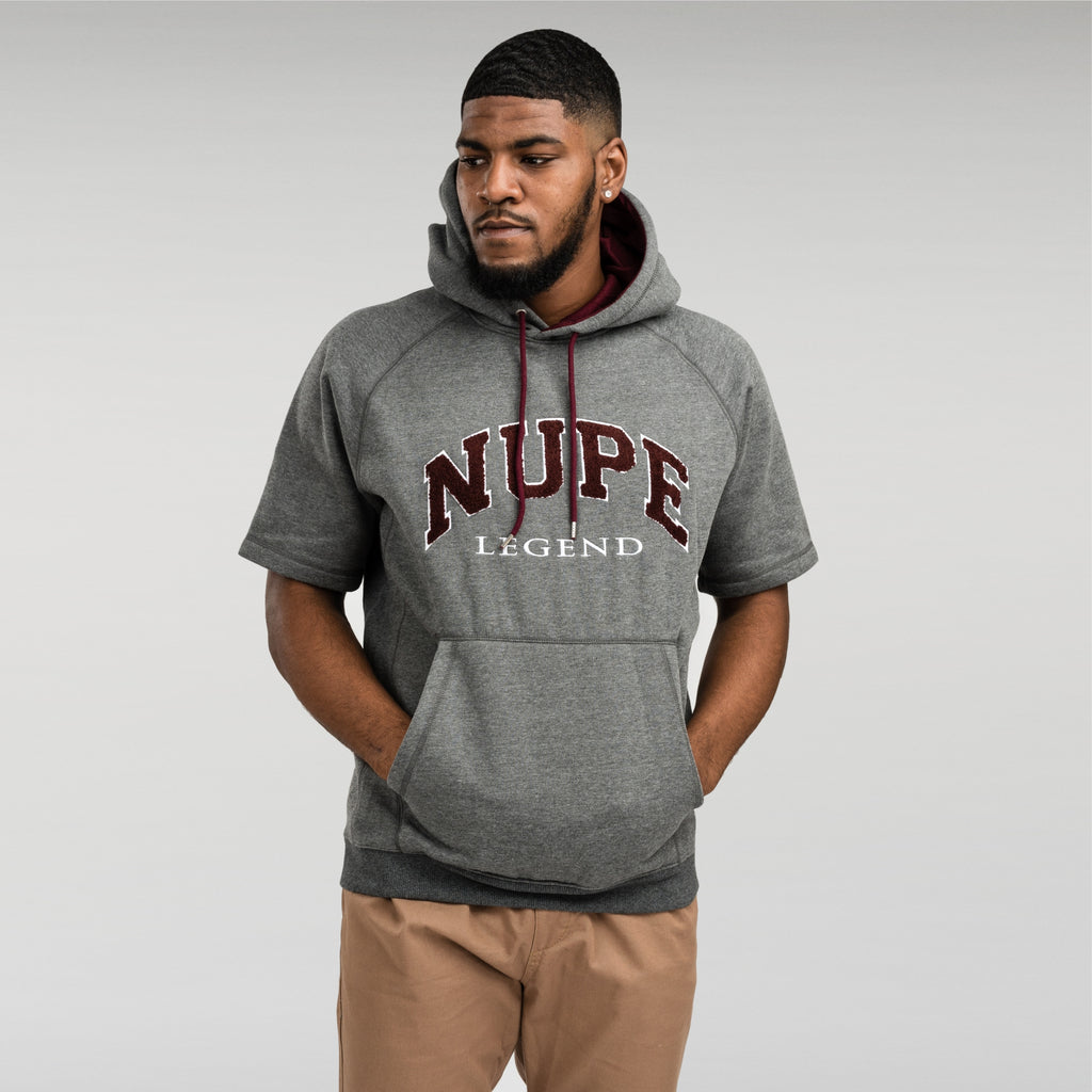 Kappa Alpha Psi NUPE Chenille Short Sleeve Pullover Hoodie