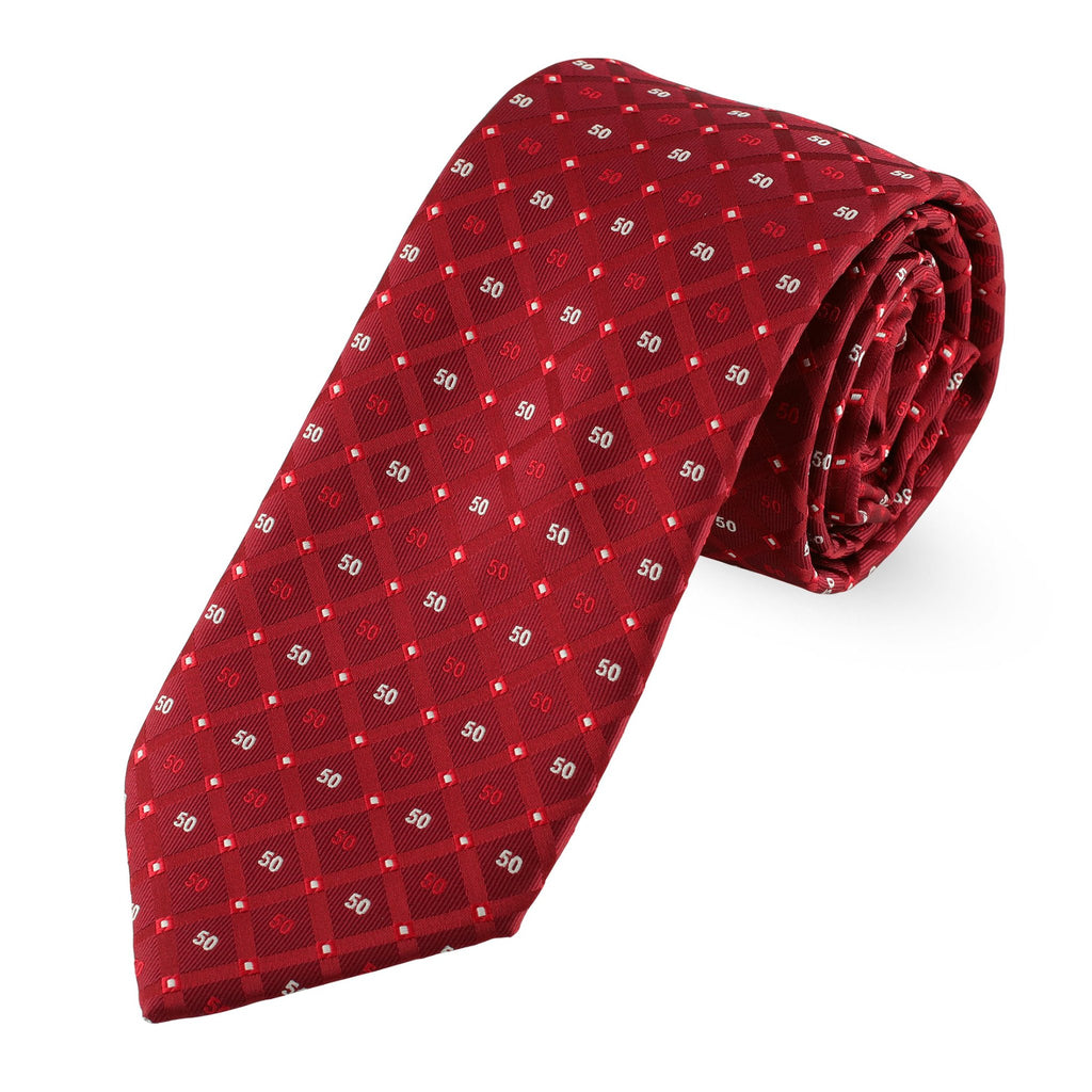 Kappa Alpha Psi Official Diamond 50 Year Member Necktie