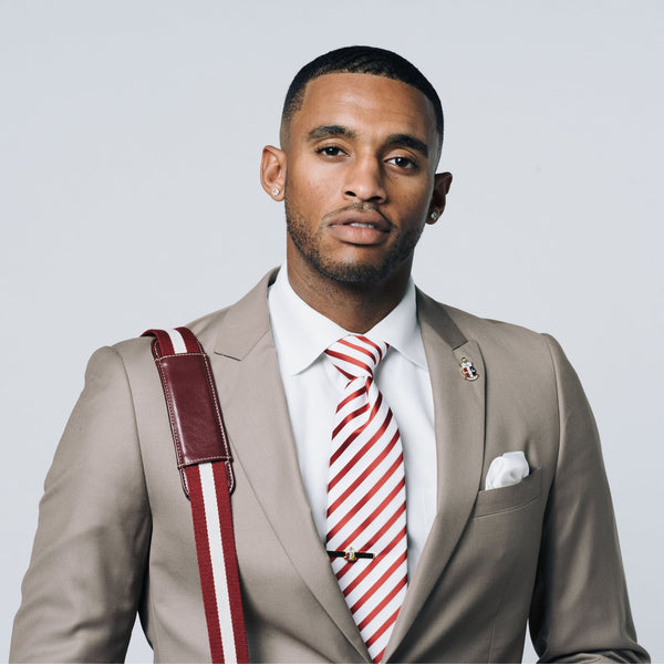 Kappa Alpha Psi Raised Stripe Neck Tie