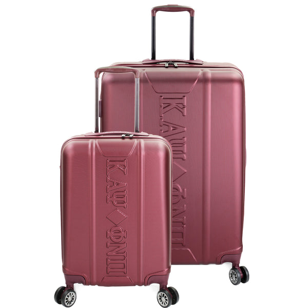 Kappa Alpha Psi 2-piece Hardside Spinner Luggage Set