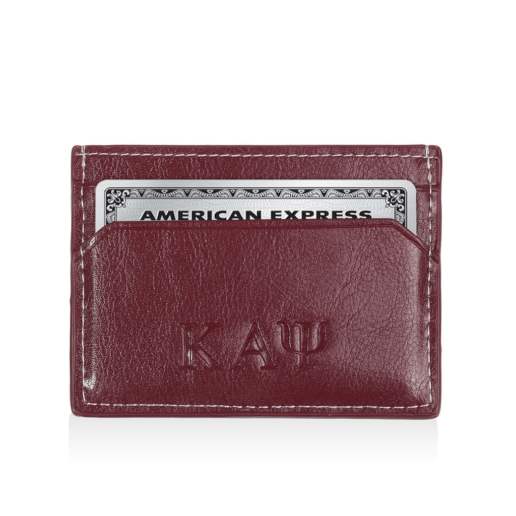 Kappa Alpha Psi Signature Stripe Card Holder