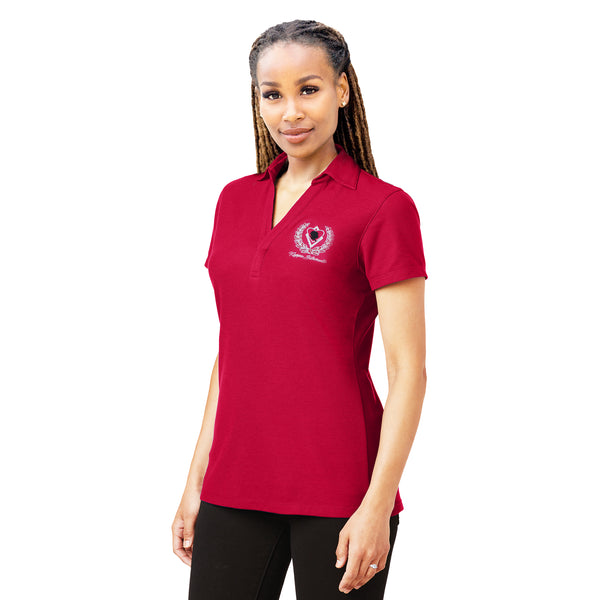 Kappa Alpha Psi Silhouette Buttonless Polo