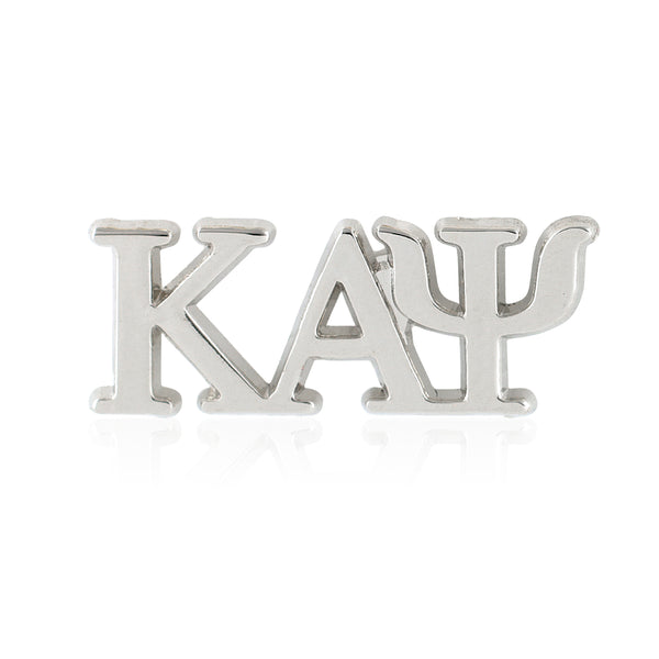 Kappa Alpha Psi Greek Letter Lapel Pin (Silver)