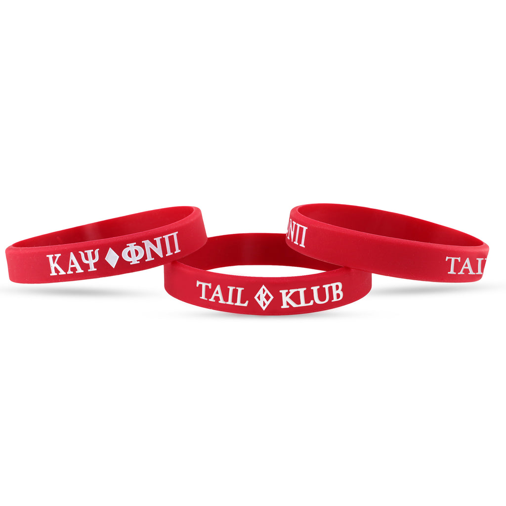 Kappa Alpha Psi Tail Klub Wristband