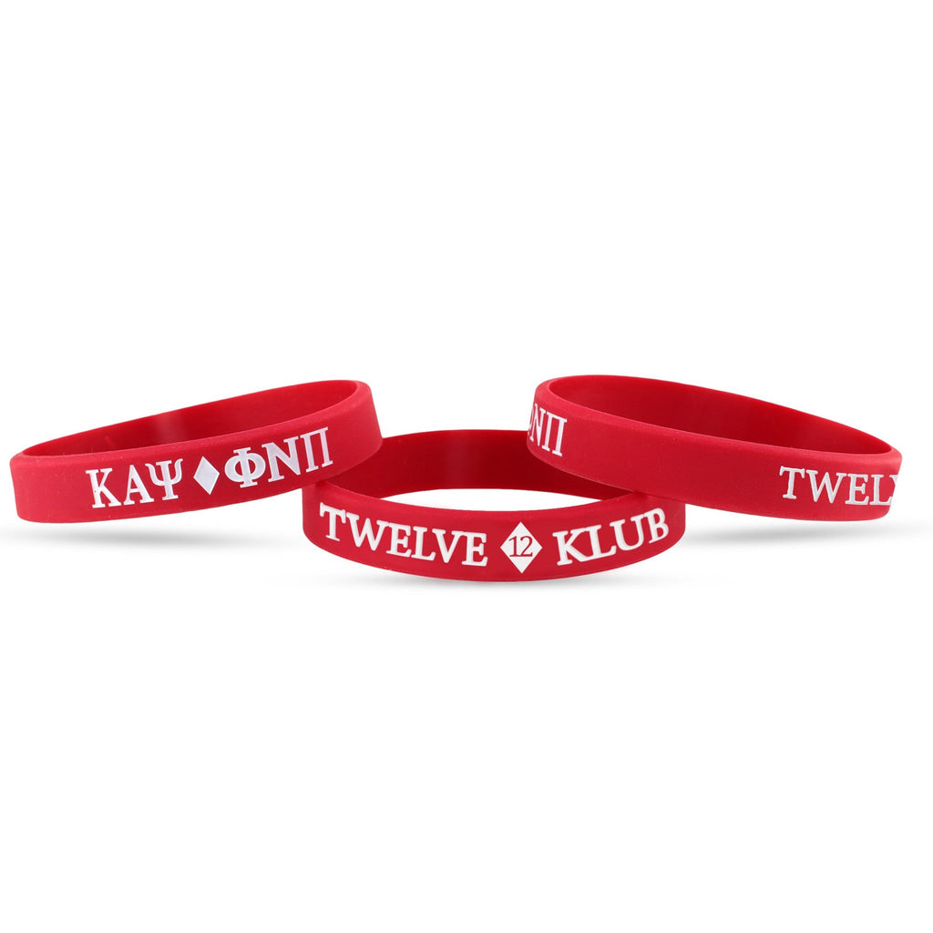 Kappa Alpha Psi Twelve #12 Klub Wristband