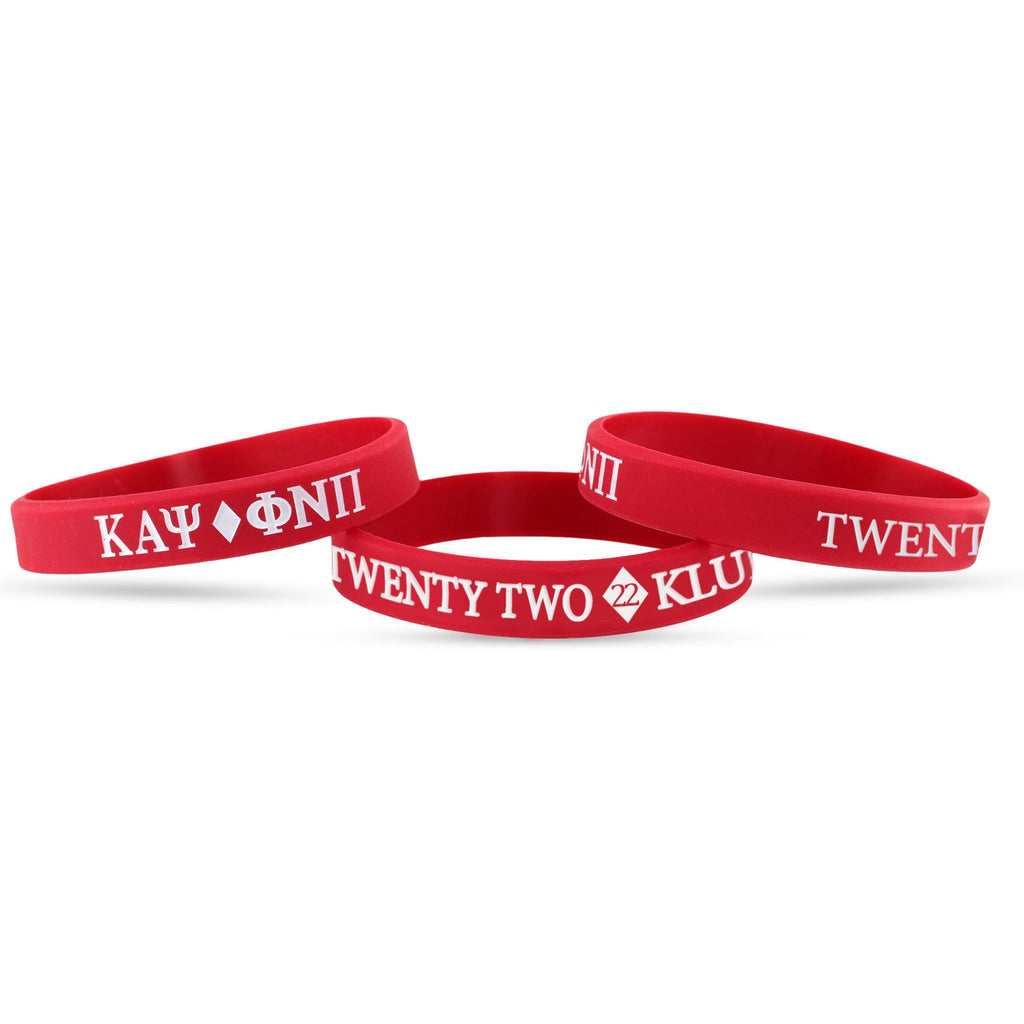 Kappa Alpha Psi Twenty Two #22 Klub Wristband