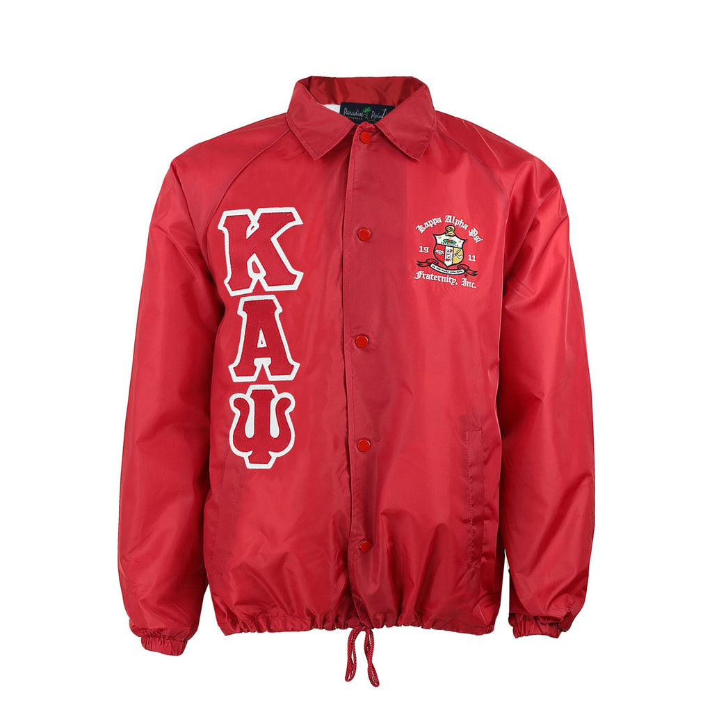 Kappa Alpha Psi Line Crossing Jacket Red Nupemall