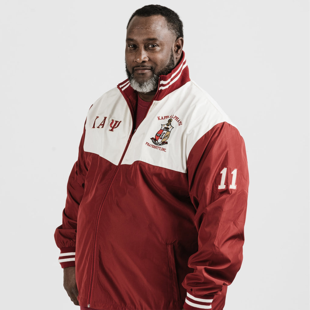 302ffbbb7 Kappa Alpha Psi Windbreaker Track Jacket