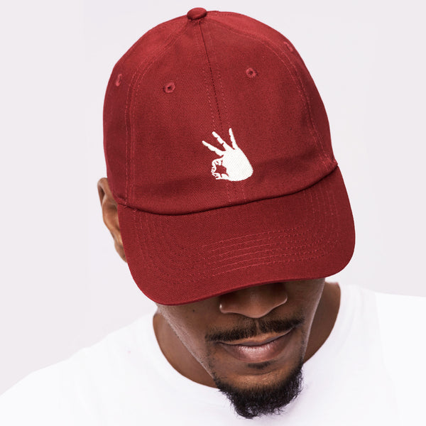 Kappa Alpha Psi YO Adjustable Dad Cap (Krimson or Cream)