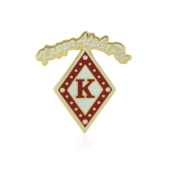 Kappa Alpha Psi Diamond Script Lapel Pin