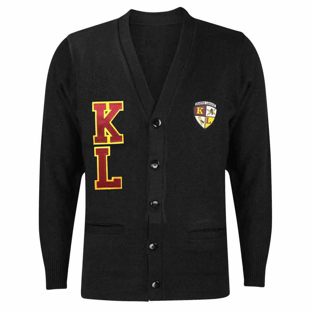 Kappa League Cardigan Sweater (Black)