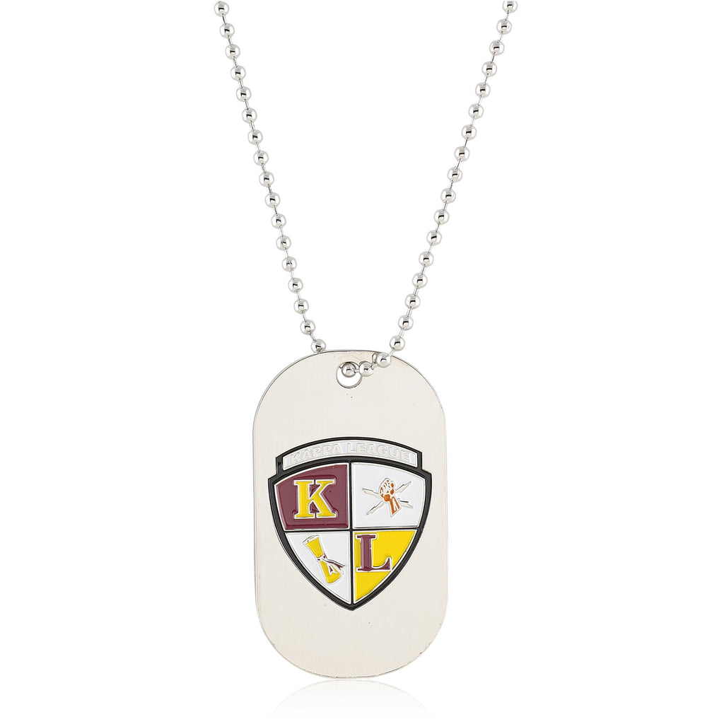 Kappa League Reversible Dog Tag (Silver)