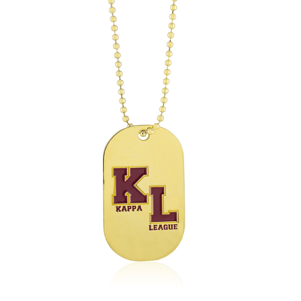 Kappa League Reversible Dog Tag (Gold)
