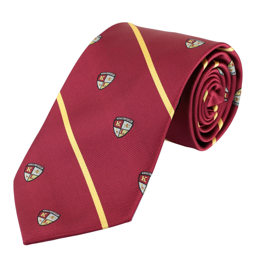 Kappa League Striped Shield Necktie