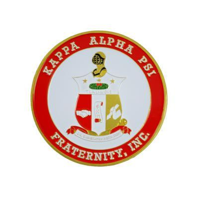 Kappa Alpha Psi Car Badge