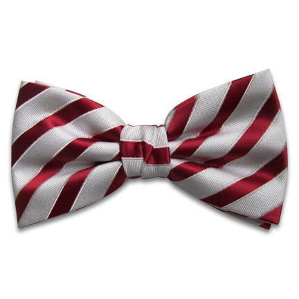 Kappa Alpha Psi Raised Stripe Bow Tie