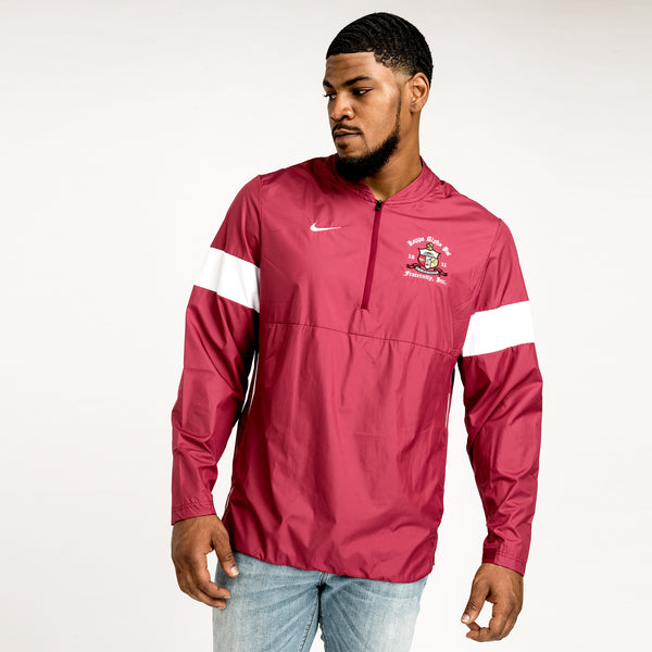 Kappa Alpha Psi NIKE Striped Lightweight Coaches Jacket