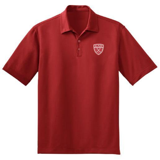 Kappa Alpha Psi DriFit Greek Letter Golf Polo