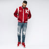 Kappa Alpha Psi World's Greatest Frat Wool Varsity Jacket (Krimson)