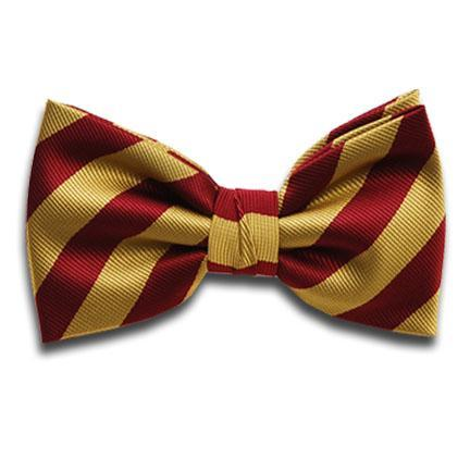 Kappa League Classic KL Striped Bow Tie
