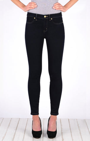 High Waisted Super Skinny Ankle Jean - Pure Indigo